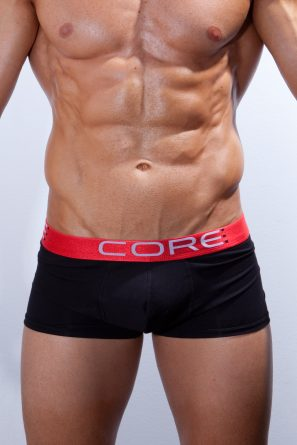 Boxer_Short_CORE_Black_front