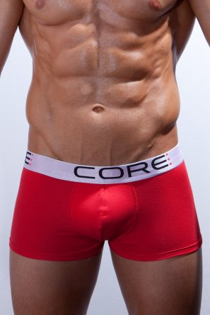 Boxer_Short_CORE_Red_front