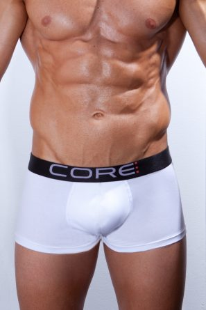 Boxer_Short_CORE_White_front